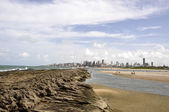 Beach of Natal, Rio Grande do Norte (Brazil) — Stock Photo