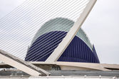 The City of Arts and Sciences in Valencia (Spain) — Stock Photo