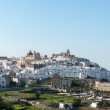 View of the old town Ostuni (Italy) — Stock Photo #44137517