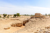 The ancient city of Ubar, Dhofar (Oman) — Photo