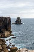 Cabo carvoeiro in de buurt van peniche (portugal) — Stockfoto