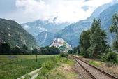 Fort Bard, Aosta Valley (Italy) — Stock Photo