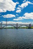Arch bridge Preobrazhensky — Stockfoto