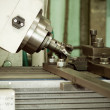 CNC drilling and milling in a workshop   — Stock Photo