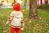 Little child portrait — Stock Photo