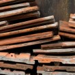 Heap of roofing tiles — Stock Photo
