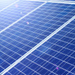 Background of Blue Solar Panels — Stock Photo