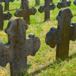 Old graves headstones — Stock Photo #34656949