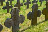 Old graves headstones — Zdjęcie stockowe