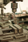 Metal drilling — Stockfoto