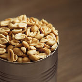 Salted peanuts — Stock Photo