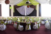 коричневый зеленый свадьба — Стоковое фото