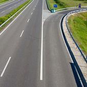 Empty freeway road — Stock Photo