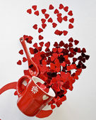 Burst Of Valentine's day — Foto Stock