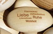 Wishes in german. — Stock fotografie