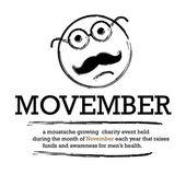 Movember — Stock Vector