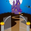 Halloween Background — Stock Vector #33099107