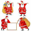 Santa Claus — Stock Vector