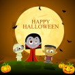 halloween character — Stock Vector