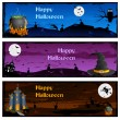 Halloween Banner — Stock Vector #33429563