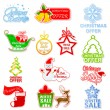 Christmas and Winter Sale — Stock Vector
