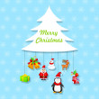 Merry Christmas — Stock Vector #34426119