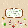 Merry Christmas — Stock Vector #34614927