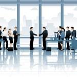 Business Deal — Stock Vector