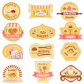 Bakery Label Collection — Stock Vector