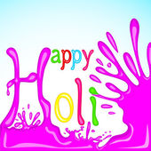 Colorful Holi Background — Stock Vector