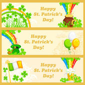 Saint Patrick's Day Banner — Stockvector