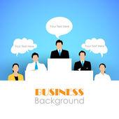 Organisation Hierarchy — Stock Vector