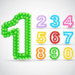 Colorful Balloon Number Set — Stock Vector #41619855