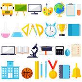 Icono de objeto educación — Vector de stock