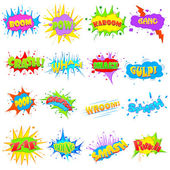 Comic Expression — Stock Vector
