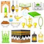 Object for Eid design — Stock Vector