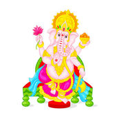 Lord Ganesha — Stock Vector