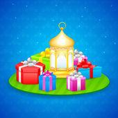 Gift for Eid festival — Wektor stockowy