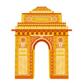 India Gate — Stock Vector