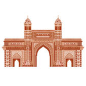 Gateway of India — Stock Vector