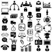 значок office — Cтоковый вектор