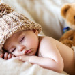 Baby boy, sleeping — Stock Photo