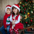 Kids on Christmas — Stock Photo #36813813