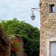 Street in the historic village of Gordes, Provence, France — Stock Photo #49314419