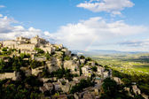 Gordes, one of the most beautiful and most visited French villag — Stockfoto