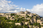 Gordes, one of the most beautiful and most visited French villag — Foto de Stock