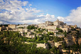 Gordes, one of the most beautiful and most visited French villag — Stock Photo
