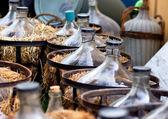 Glass Vine Demijons — Stock Photo