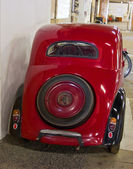 Red Old Timer — Stock Photo
