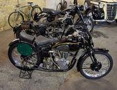 Retro Motorcycles — Stock Photo